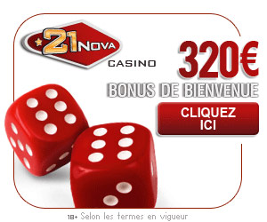 www.21nova.com - Bonus de 320€ lors du premier dépôt.