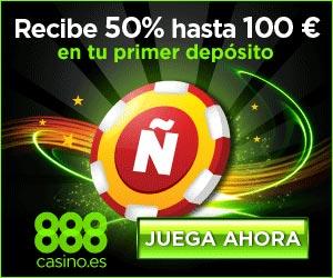 www.888.com | 100% de bonificación de bienvenida hasta $1400/€900