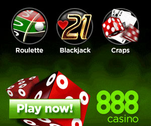 888 Casino - Welcome Bonus, for new players up to $1500 on the first deposit