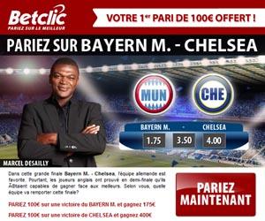 Ligue des Champions : Pariez sur la finale avec BetClic