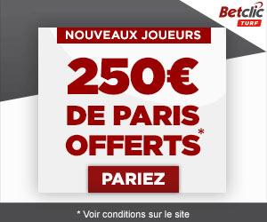 BetClic Turf : 30 euros offerts dès le 1er dépôt