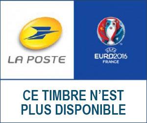La Poste lance le timbre officiel de l'UEFA EURO 2016™