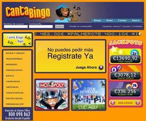 www.CantaBingo.com | Botes de más de 50000 Euros