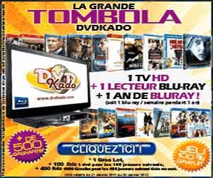 DVDKado : gagnez des DVD, des Blu-Ray, des ensembles Home Cinema...
