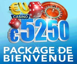 www.eucasino.com | 1000 euros de Bonus sur le 1er dépôt