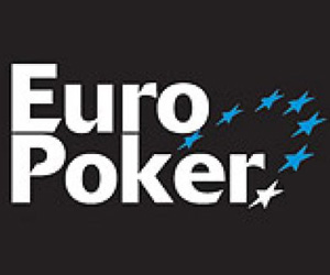 EuroPoker - Bonus de Bienvenue de 100% jusqu'à 1200$