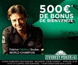Everest Poker : 3 packages pour Vegas à gagner lors du combat des régions