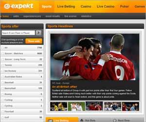 Expekt.com | Bonus de bienvenue de 100% jusqu'à concurrence de 50£