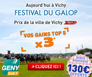 GENYbet : Gains des Top5 multipliés par 3