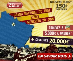 ZEturf : 7ème étape du GNT de Reims du mercredi 20/06/12