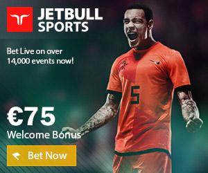 www.JetBull.com | Apuestas, casino y juegos en línea | Bono de 75 euros
