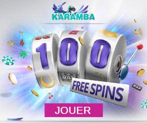 Karamba : 200€ gratuits sur le 1er dépôt & jackpot de 1 million d'euros