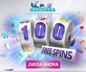 Karamba: Bono gratis de 5€ en el primer depósito & Jackpot de un millón de euros