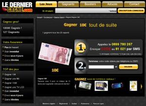 LeDernierGagne.com - Gagnez de 5 à 10000 euros