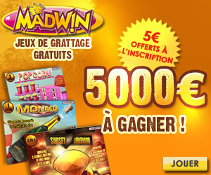 MadWin - Nouvelle section de jeux de Grattage?