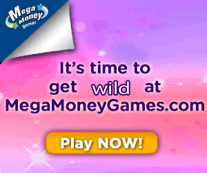 MegaMoneyGames.com | 300% Bonus for Real Money Players