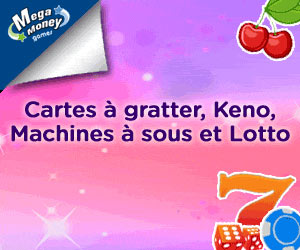 www.megamoneygames.com | 7 euros offerts gratuitement