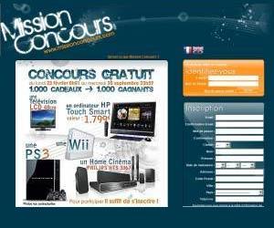 www.MissionConcours.com - Simple rapide et gratuit
