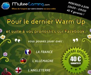 MulteeGaming : dernier Warm Up avec un prizepool spécial de 40€ garantis