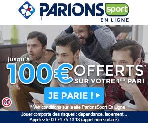 Parions Sport En Ligne de fdj.fr | Jusqu'à 100€ offerts pour parier