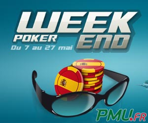 PMU Poker - Tournoi exclusif Florida Mega Deepstack avec des qualifications à partir de 3 euros seulement
