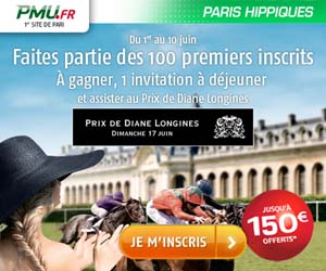 PMU Turf : Gagnez 2 places pour le Prix de Diane Longines 2012