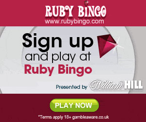 Ruby Bingo Sign Up