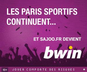 www.SaJoo.fr | Paris sportifs et Poker - Jusqu'à 80 euros offerts