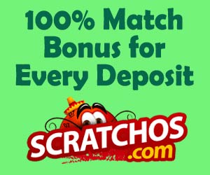 Scratchos : Get double on every deposit