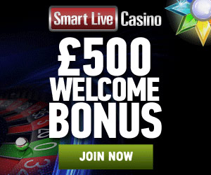 Pay Live Roulette - 500€/$/£ Bonus at Smart Live Casino