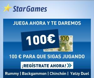 www.StarGames.com | Bono de bienvenida de 100 euros