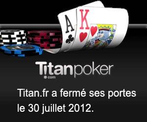Poker.Titan.fr - Bonus de 600 euros