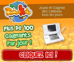 Toilokdo.com - Jeux gratuits - Plus de 100 gagnants par jour