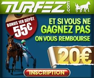 Turfez.com - De 5 à 75 euros gratuits pour parier sur les chevaux