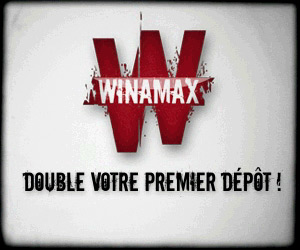Winamax Poker - Bonus de premier dépôt
