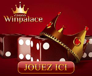 Casino www.WinPalace.com – Bonus de bienvenue de 1000€