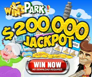 WinsPark : 5 dollars/euros/pounds free + 150% first deposit bonus