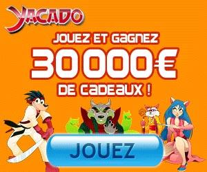 www.Yacado.com | Jouez et gagnez 30 000 € de cadeaux