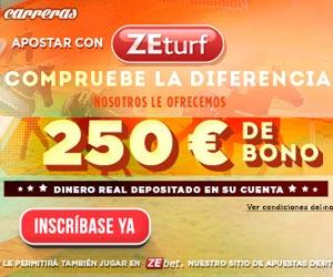 ZEturf : Bono en el primer depósito de hasta 250 euros