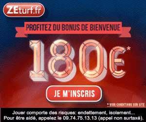 ZEturf : le bonus passe à 180 euros