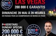 Partez pour Vegas grâce au Sunday Special de PokerStars