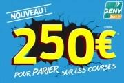 GENYbet : bonus de 250 euros jusqu'au 31 août 2015