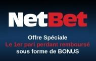 NetBet Sport : bonus exceptionnel de 200€