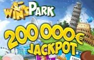 WinsPark : 5€ offerts + bonus jusqu'à 200€