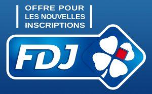 fdj.fr - offre pour les nouvelles inscriptions