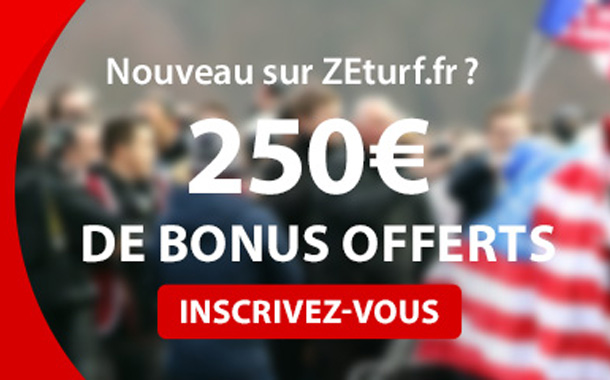 ZEturf : jusqu'à 250 euros de bonus de bienvenue