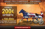 ZEturf : Bonus de 200 euros + 100000 euros à partager